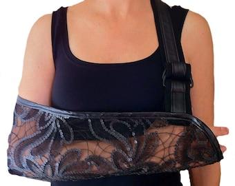 Arm Sling - City Sequin Designer Fashion Arm Sling.
