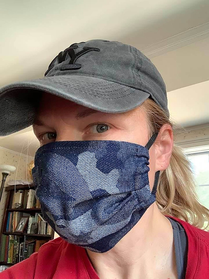 Face Mask  Peaceful Warrior image 0