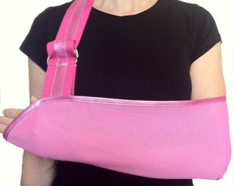 Arm Sling - Pretty in Pink Designer Fashion Arm Sling.