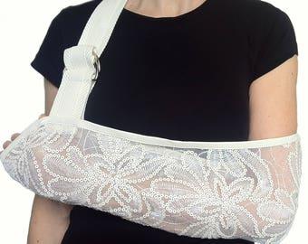 Arm Sling - Sensuous Sequin Designer Fashion Arm Sling.