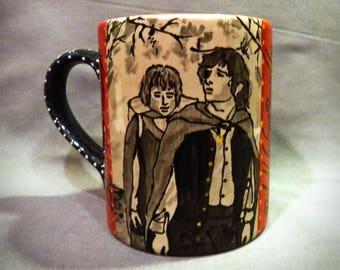 Lord of the Rings: Frodo and Sam Mug