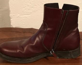 Salvatore Faragamo Zipper Side Boots