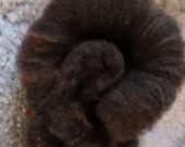 handcarded Romney Shetland Lamm Mix sheep Batt, for spinning and felting, 100g, Nr.1