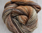 Cambrian Wool BFL Welsh 105gr/ 404m / fingering/ handspun yarn, Hilltop Cloud