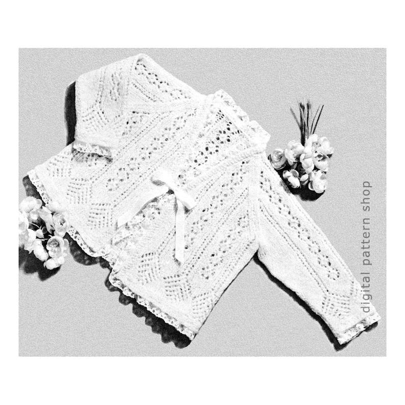 31860694a Baby Sweater Knitting Pattern Girls Lacy Sweater Raglan