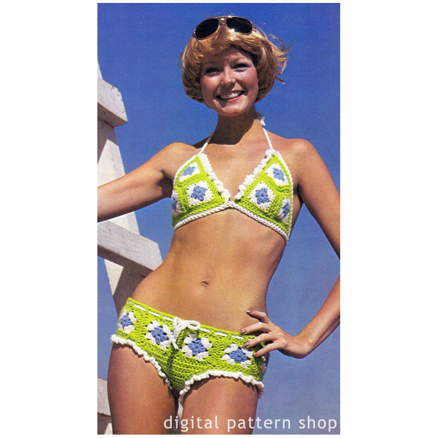 Swimsuit granny Thong Swimsuit,