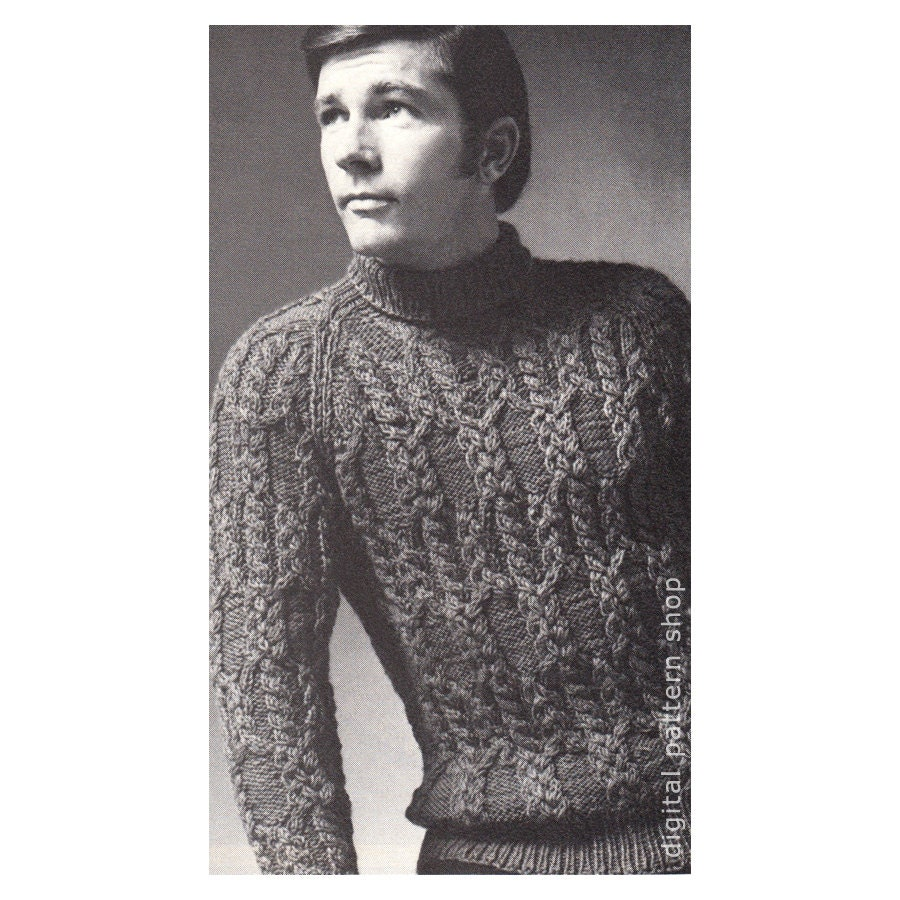 Knit Sweater Pattern Simple Design