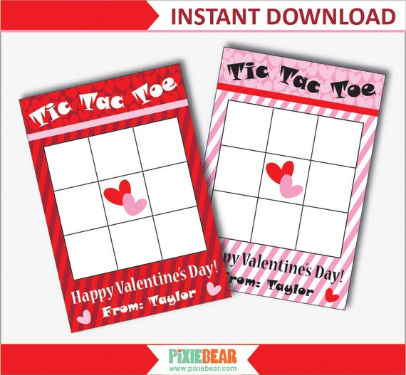 graphic regarding Tic Tac Toe Valentine Printable named Valentines Tic Tac Toe - Valentines Working day Tic Tac Toe