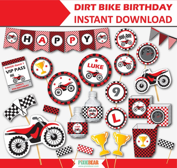 Dirt Bike Party Decorations