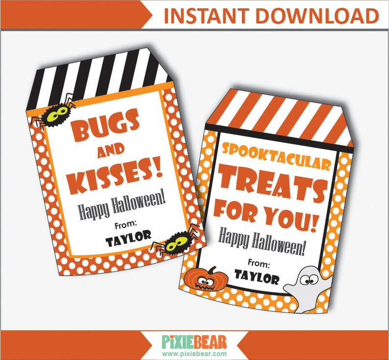 photograph relating to Halloween Gift Tags Printable named Halloween Tags - Halloween Labels - Halloween Social gathering Tag - Halloween Tags Customize - Halloween Reward Tags - Printable (Prompt Down load)