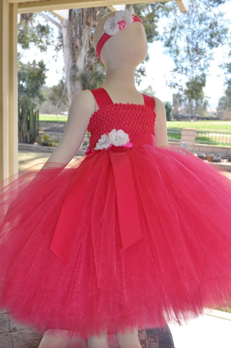 0b9791de481 Fuchsia Flower Girl DressHot Pink Flower Girl DressFuchsia