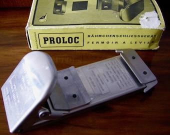 Proloc Slide Fastener ~ Photography Slides ~ Darkroom & Developing ~ Made in Switzerland