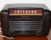 1940 39 s RCA Victor Radio AM Receiver Little Master A Model Working Condition