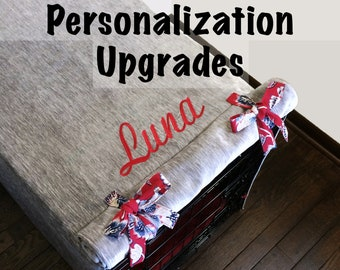 Embroidery or Vinyl Personalization