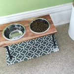 Custom-Sized Water-Resistant Pet Food Placemat