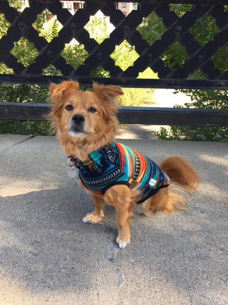 Aztec Fleece Pullover Sweater image 0