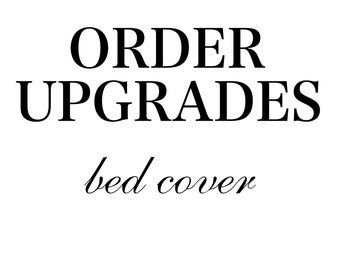 Bed Cover Upgrades for Carmen