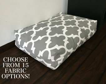 Custom-Fit Dog Bed Cover