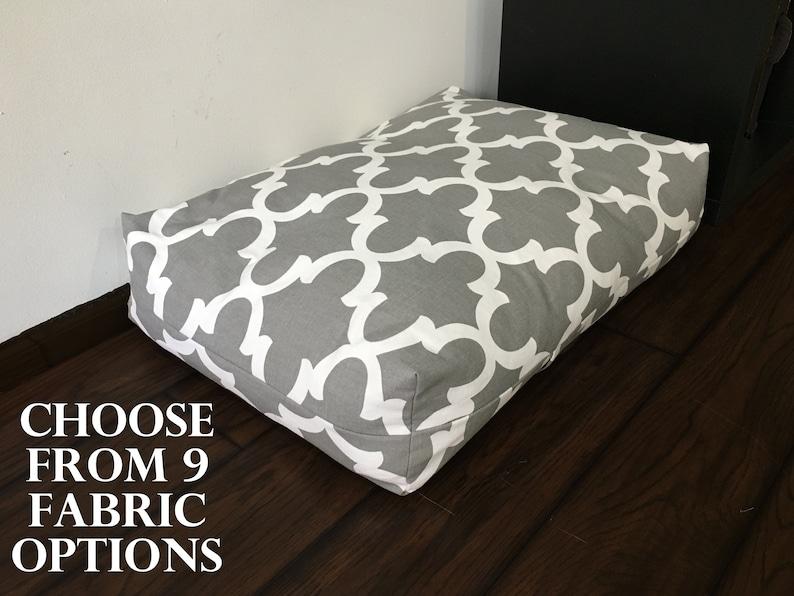 Custom-Sized Dog Bed Cover image 0