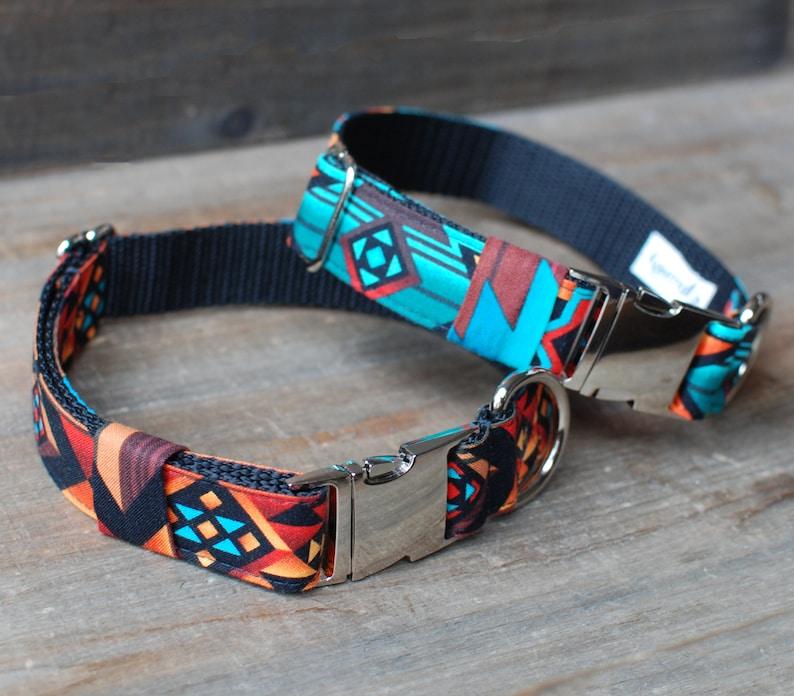 Aztec Pet Collar image 0