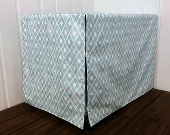 """30"""" Crate Cover Tiffany Blue Diamonds"""