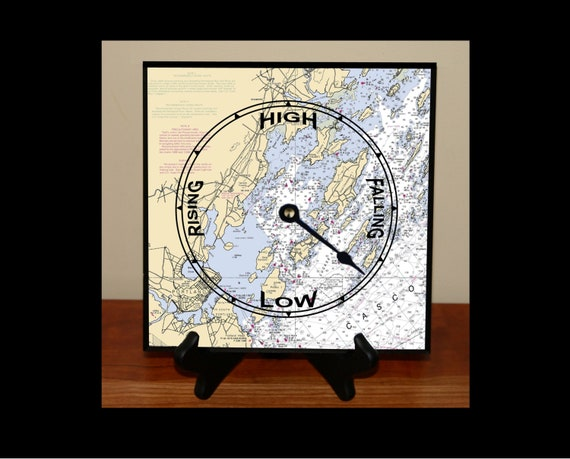 Nautical Chart Tide or Time Clock   free shipping!