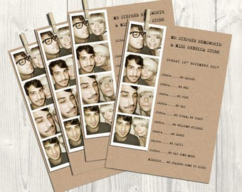 Photo Strip Order of the Day