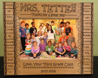 Class Picture Frame Etsy