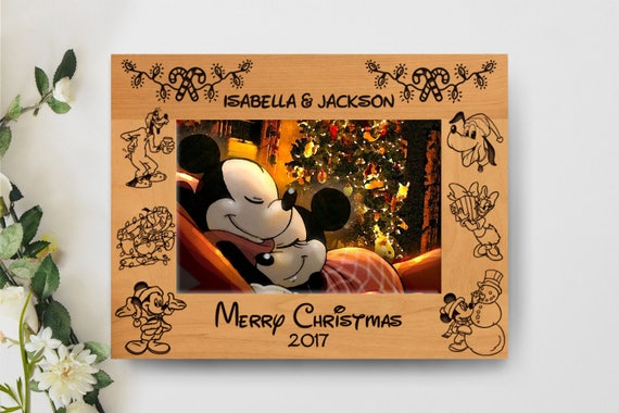 Christmas Picture Frame Personalized Picture Frame 5x7 Etsy