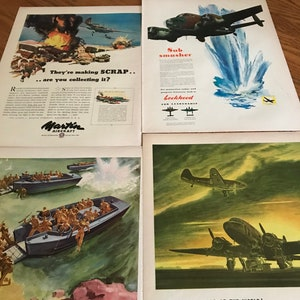 Fishing Trip /& Duck Hunting Set of 3 Ads for Sports Afield from  Life Magazine 1947 All 3 to Frame Hunting Decor 1940/'s Hunting Dogs