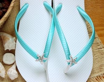 fa9cdc097fea Bridal flip flops