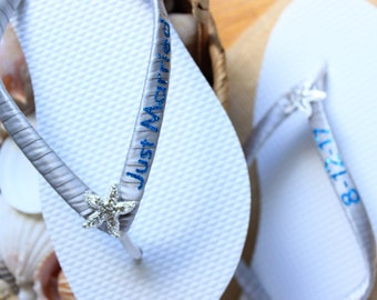 e0a772a7ba69f Just married sandals