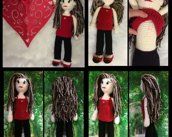 Crochet soft doll