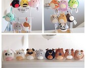 Assorted 3.5 quot Squishmallow Clips