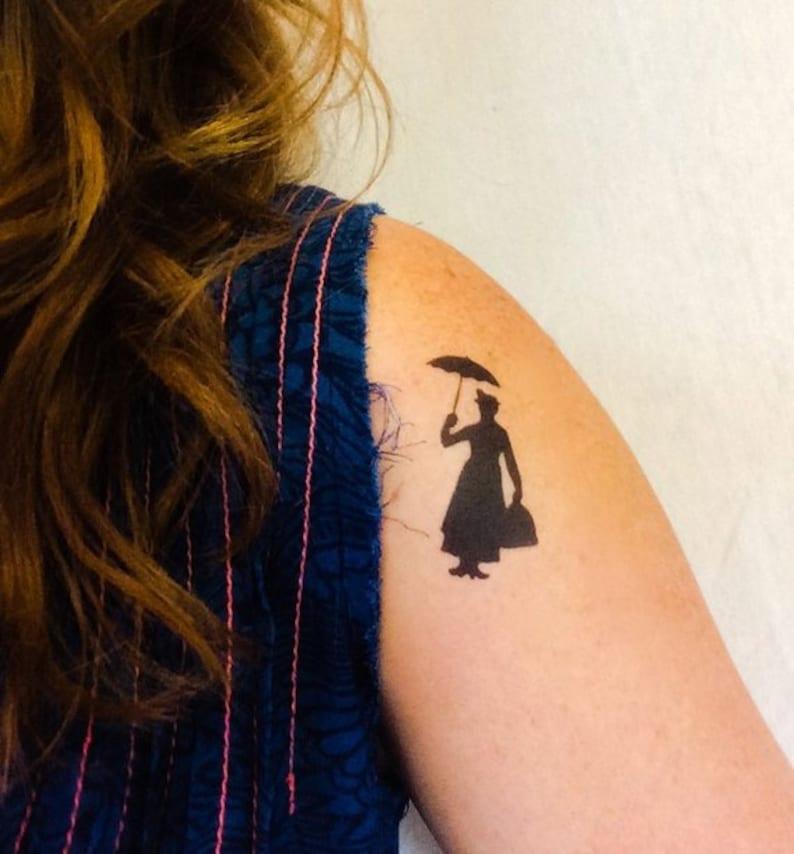 2 Mary Poppins Temporary Tattoos SmashTat image 0