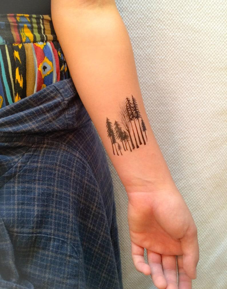 466d79502 2 Forest Temporary Tattoos SmashTat | Etsy