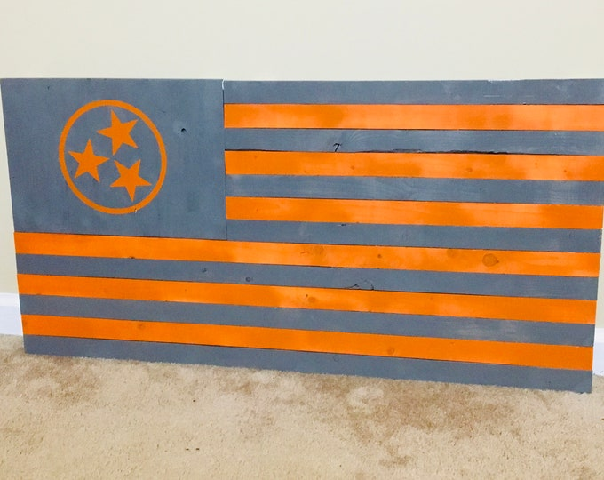 Rustic Tennessee Flag