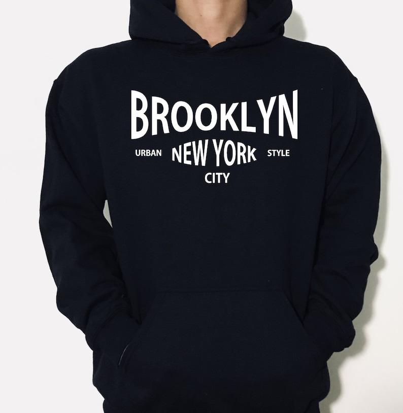4a47cea39 Brooklyn New York City Hoodie Brooklyn gift Brooklyn   Etsy
