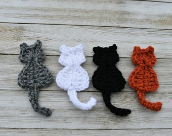 Free Crochet Cat Bed Patterns to make, cat caves, donuts, pouffes ... | 270x340