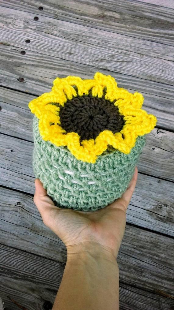 Sonnenblume Wc Papier Abdeckung Häkeln Sonnenblume Etsy
