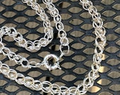 Loop-N-Loop Silver Chain...