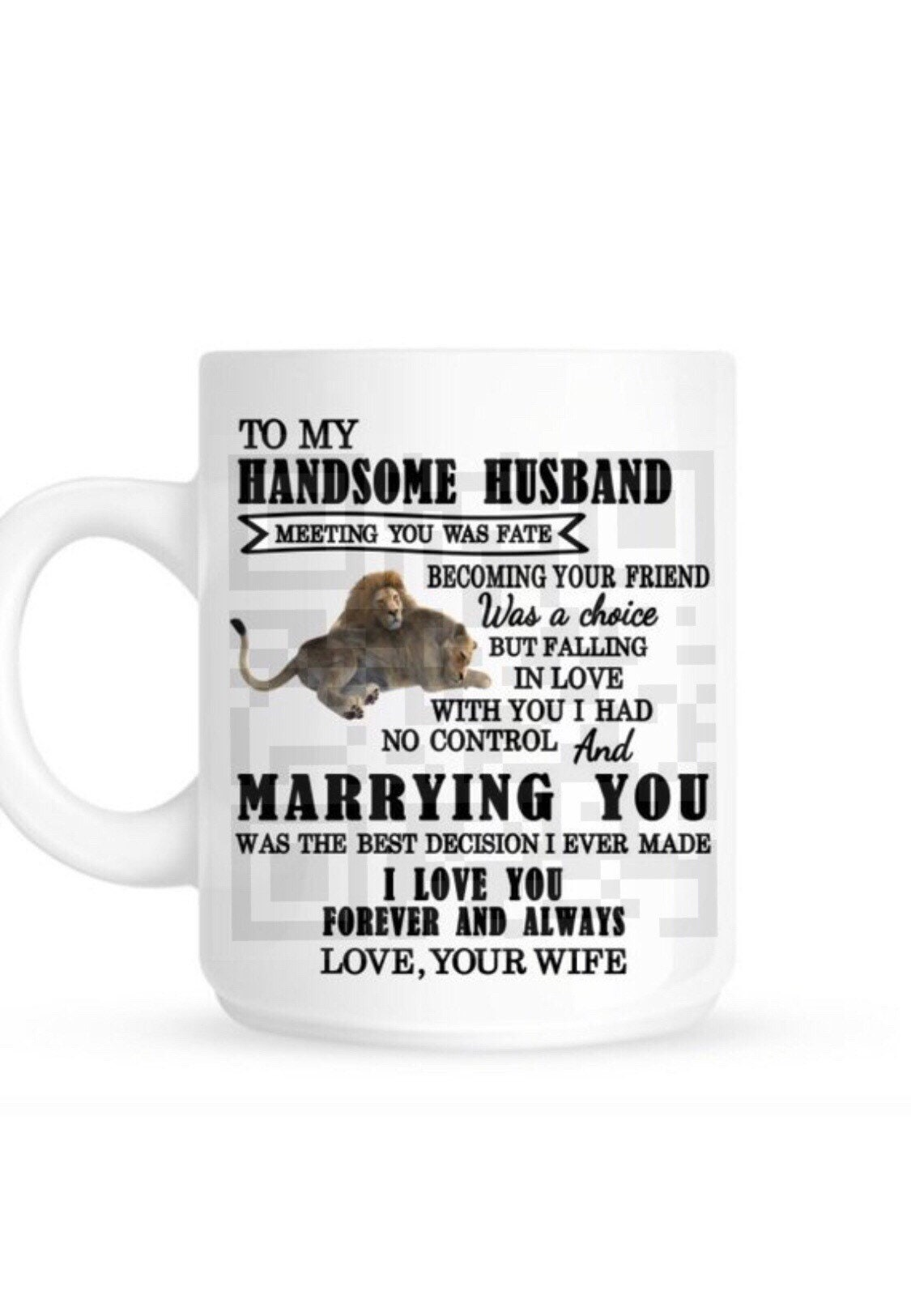 I Love You Mug Meeting You Was Fate Quote Wife Mug Girlfriend Mug