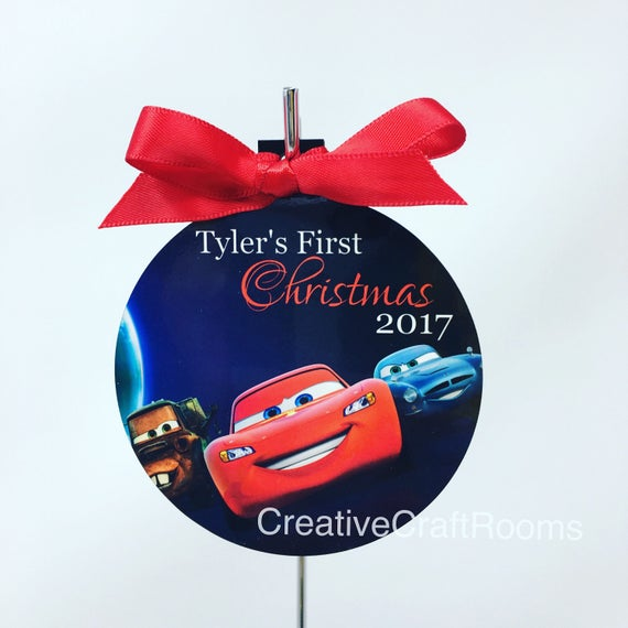 Personalized Car Ornament, First Christmas Ornaments, Cars Ornament, Baby's 1st Christmas, First Christmas
