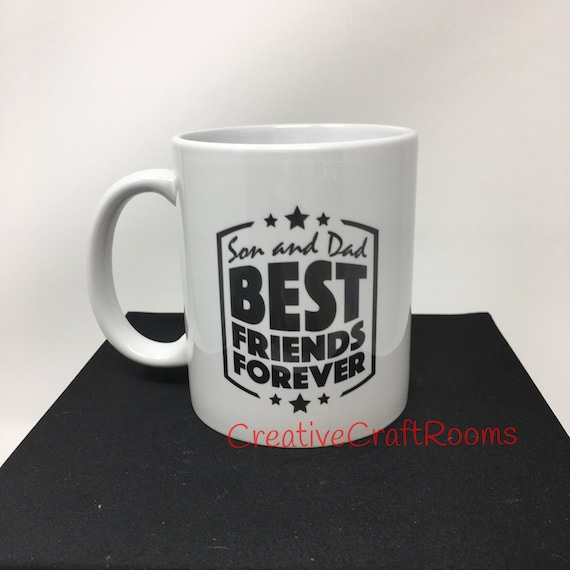 Son and Dad best friends forever mug, Dad and Son Best Friends For Life Mug, Father gift, Son gift, Inspirational mug,  Father's Day Gift