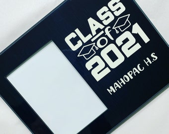 Graduation Picture Frame, Personalized Gift, College Graduation, High school graduation, Graduation Gifts, Graduation, Class of 2021