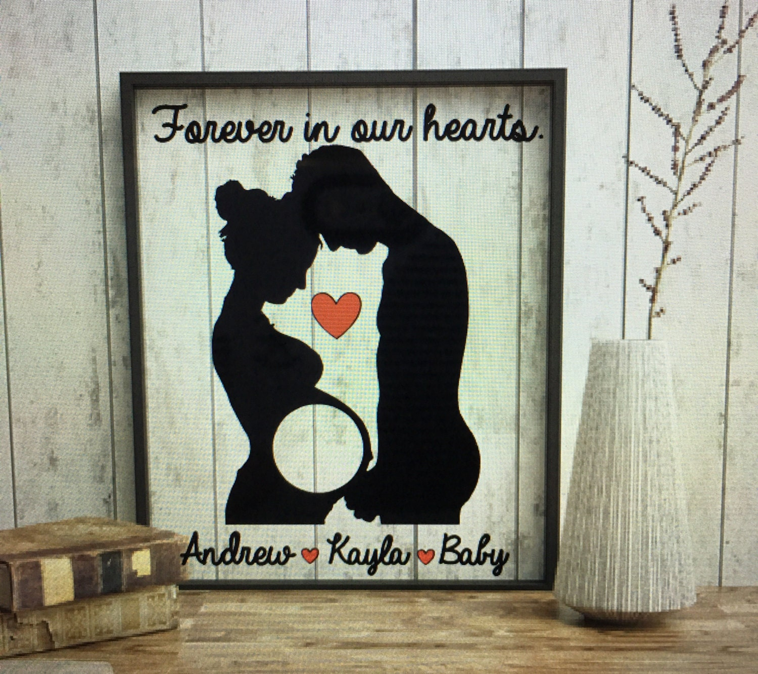 Sonogram Picture Frame Expectant Mother Gifts Expectant Mother