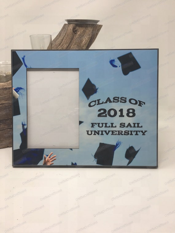 High school graduation Frame, Graduation Picture Frame, Personalized Gift, College Graduation, Graduation Gifts, Graduation, Class of 2018