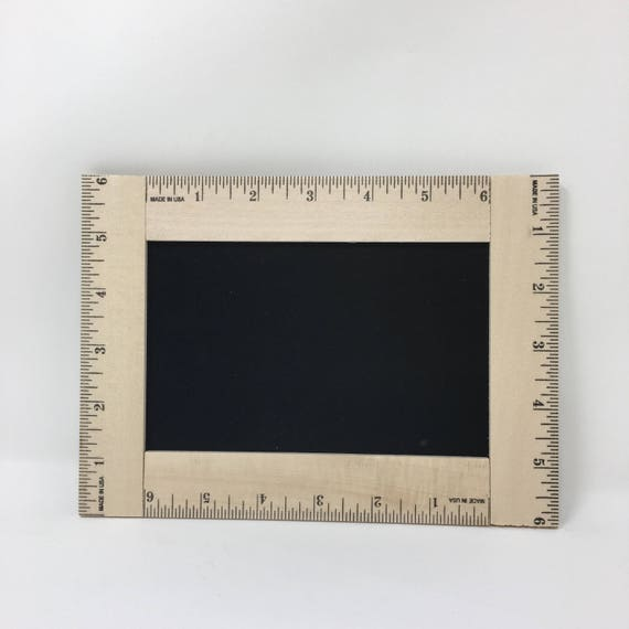 First Day of School Blank Chalkboard, Reusable First Day of School Chalkboard, 1st Day of School Sign Ruler, Back to School Sign, Ruler Sign