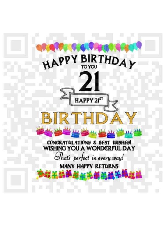 happy 21st birthday images
