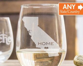21st Birthday Gift For Him, Bachelorette Wine Glass, Wedding Wine Glass, Unique Wine Glass, Personalized Gift, Stemless Wine Glass
